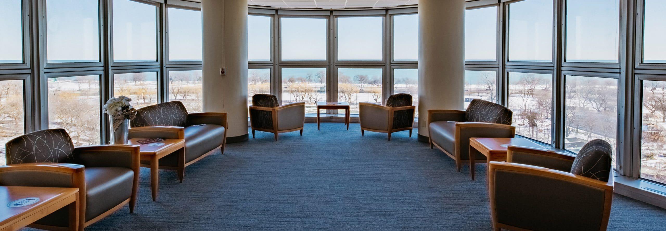 Diamond Headache Inpatient Unit lobby Chicago